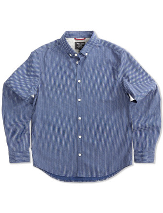 Oval Print Shirt (Boys 8-14 Years)