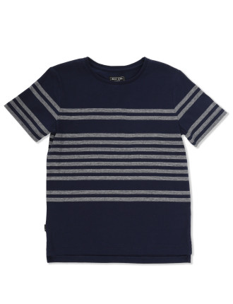Marle Stripe Tee (Boys 2-7 Years)