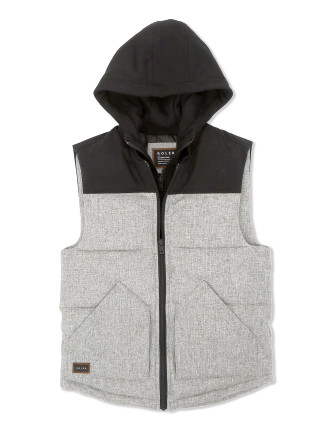 Roler Layered Puffer Vest (Boys 8-14 Years)