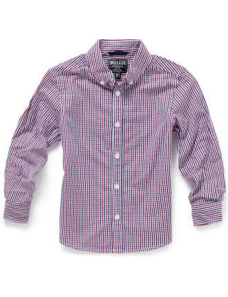 Heron Check L/S Shirt