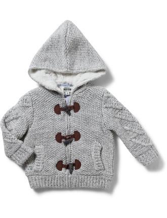 Sherpa Toggle Knit