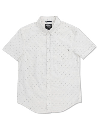 Jacquard Polka Ss Shirt