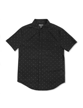 Diamond Print Ss Shirt