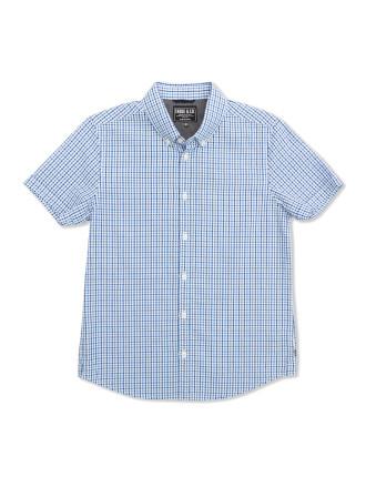 Trev Check Ss Shirt