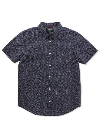 Polka Short Sleeve Shirt