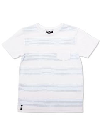 Track Stripe Tee (Boys 3-7 Yrs)