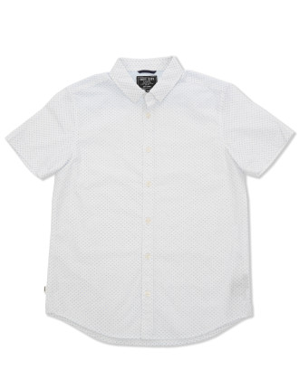Pin Dot SS Shirt (Boys 3-7 Yrs)