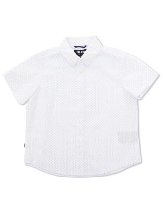 Pin Dot SS Shirt (Boys 0-2 Yrs)