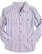 Dobbie Stripe Long Sleeve Roll Up Shirt $9.90