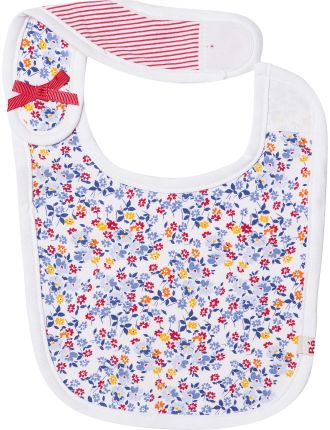 Emily Velcro Bib With Bows