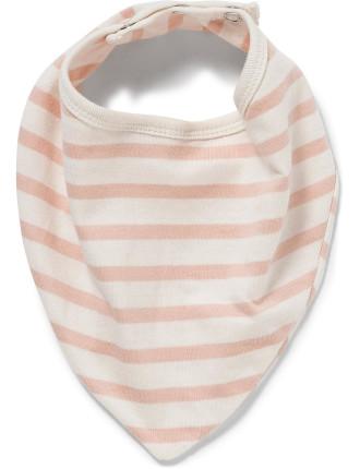 Striped Bandanna Bib