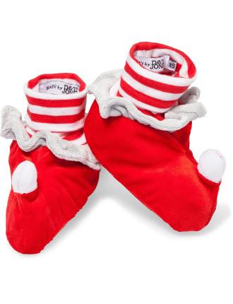 Xmas Booties Santa