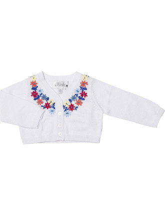 Emily Embroidered Cardi