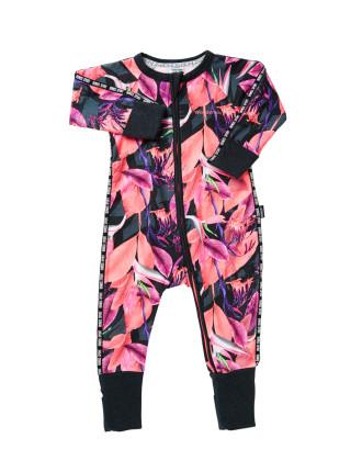Sporty Zip Wondersuit Long Sleeve