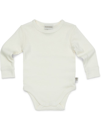 Long Sleeve Wool Bodysuit