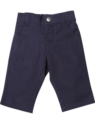 Logan 4-Pocket Twill Pant