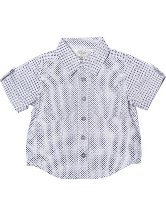 Logan Ditsy Floral Short Sleeve Shirt