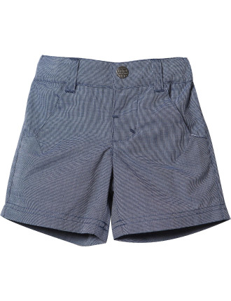 Logan Tiny Check 2 Pkt Short