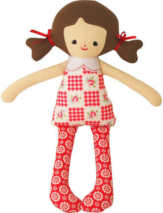 Martha Doll Rattle