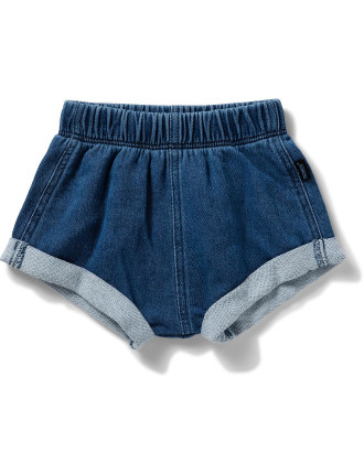 Dark Terry Denim Short (000 - 2)