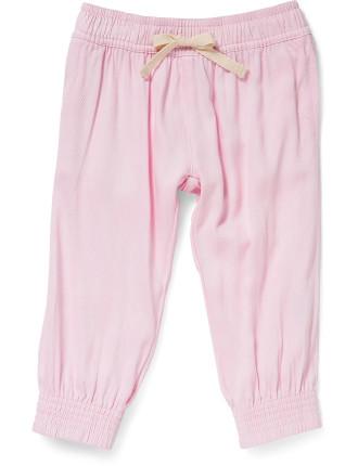 Girls Easy Woven Pant Plain