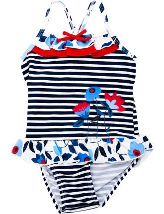 Girls Frill Swimsuit