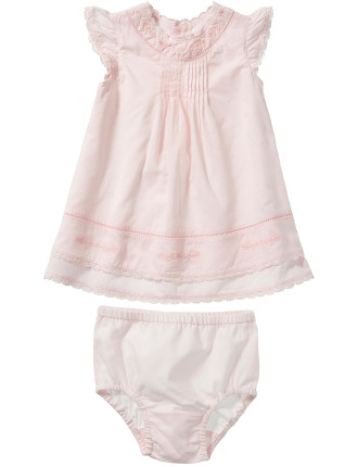Girls Dress With Nappy Pant