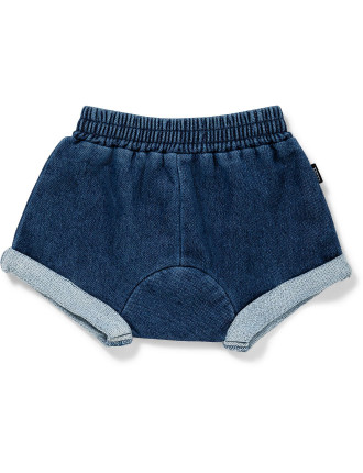 Outerwear Terry Denim Short