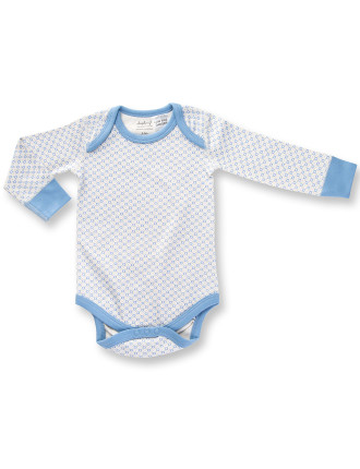 Sapling Essentials Boy Ls Bodysuit