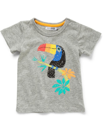 Short Sleeve Art Tee - Toucan