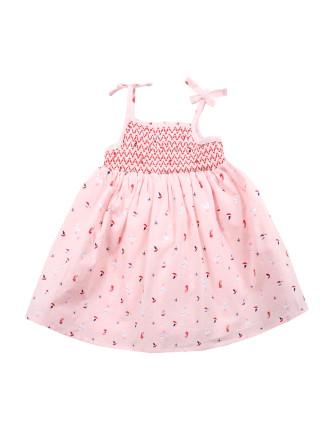 Billie Shirred Dress
