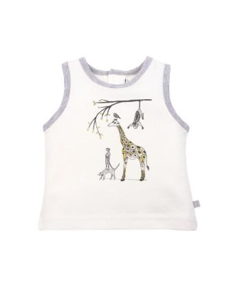 Marley Giraffe Singlet