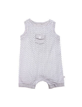 Marley S/Less Woven Romper