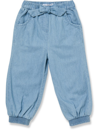 Cotton Chambray Pants
