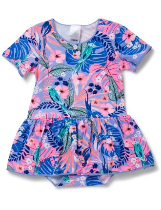Girls Bonds Stretchie Balletsuit