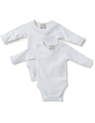 2pk Long Sleeve Bodysuits