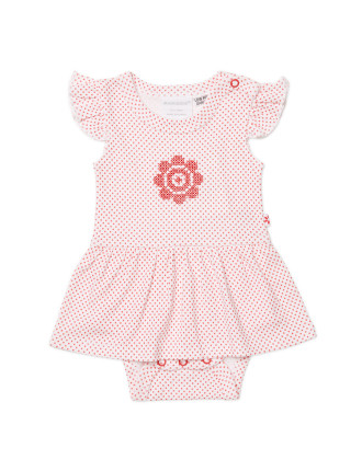 Girls Dress + Bloomer Set (NEWBORN - 1Y)