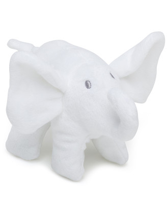 White Elephant Minky Fleece Elephant