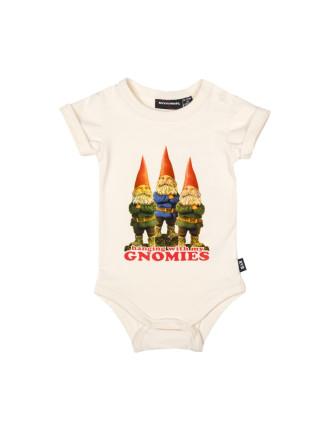 Boys Gnomies Ss Bodysuit (3M - 2Y)