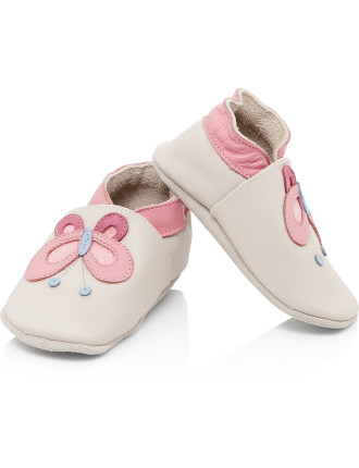 Girls Soft Sole Shoes Butterfly