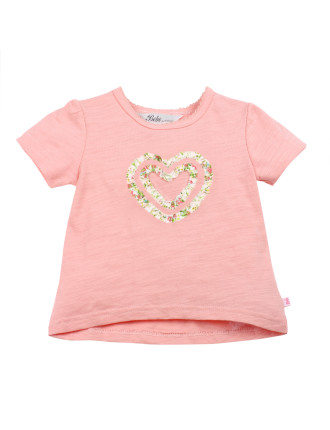 Milly S/S Heart Tee