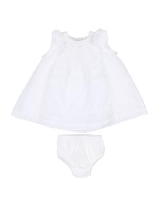 Girls S/S Yoke Lace Dress (3-24M)