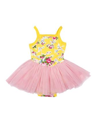 Girls Lemon Maeve Lou Lou Dress (3 - 24M)