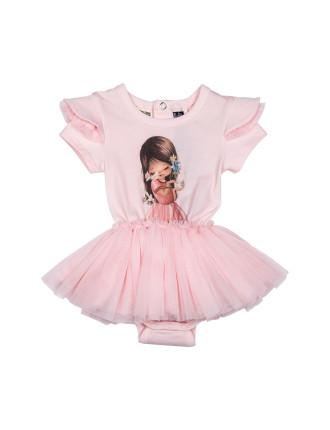 Girls Little Charmer Ss Circus Dress (3 - 24M)