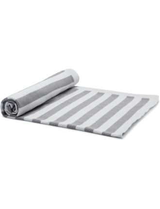 Unisex Stripe Pram Blanket (OS)