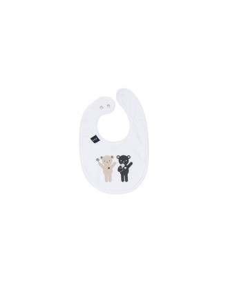 Unisex Lolly Bear Bib (OS)