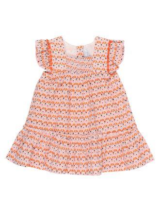 Girls Nora S/S Yoke Dress (3-24M)