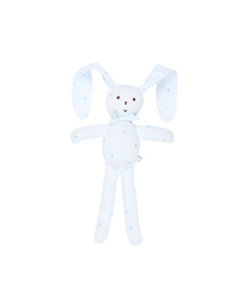 Boys Avery Floppy Rabbit Rattle (OS)