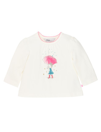 Ebony L/S Little Girl Tee