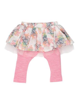 Ebony Legging With Skirt